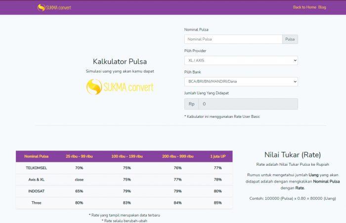 2 Manfaat Menggunakan Aplikasi Kalkulator Convert dan Tukar Pulsa