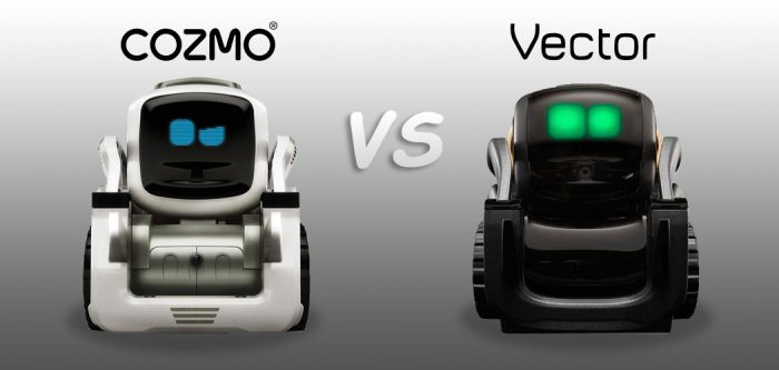 Kesamaan dan Perbedaan Robot Anki Vector dan Cozmo